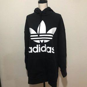 Adidas Men's Large Trefoil Hoodie